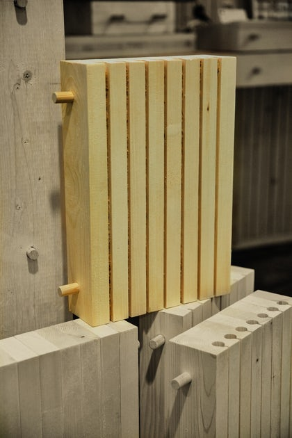 Dlt Dowel Laminated Timber All Wood Produced By