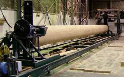 Lathe Milled Timber Image