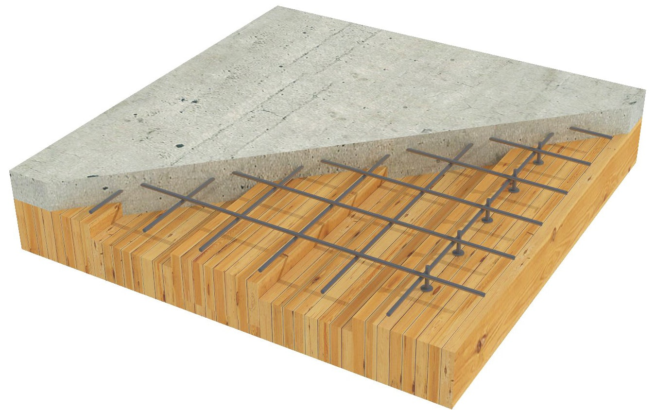 Timber Concrete Composite Mass Timber Structurecraft