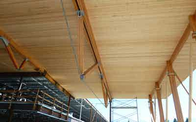 Cross Laminated Timber – CLT Image