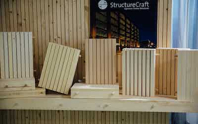 DLT – Dowel Laminated Timber Image