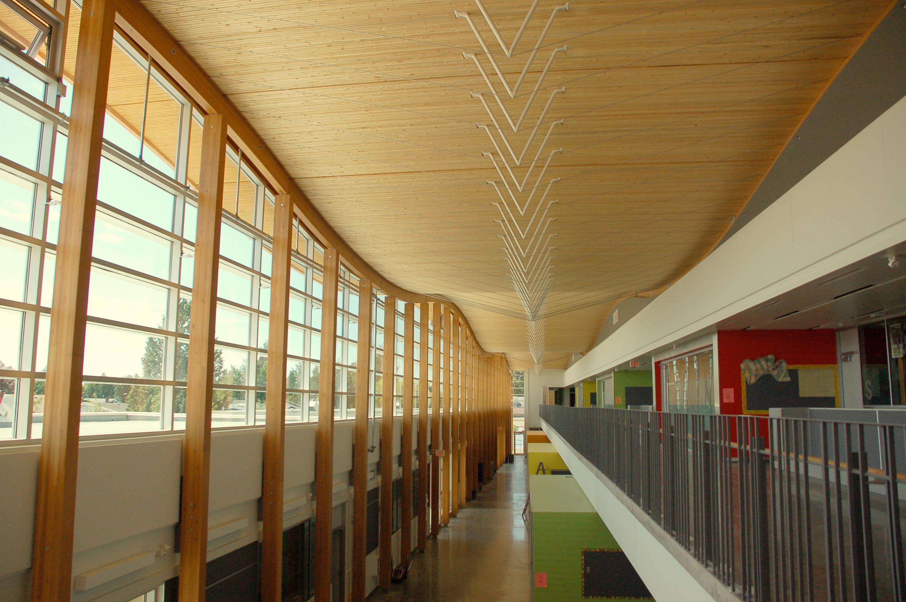 Samuel Brighouse School Atrium Roof
