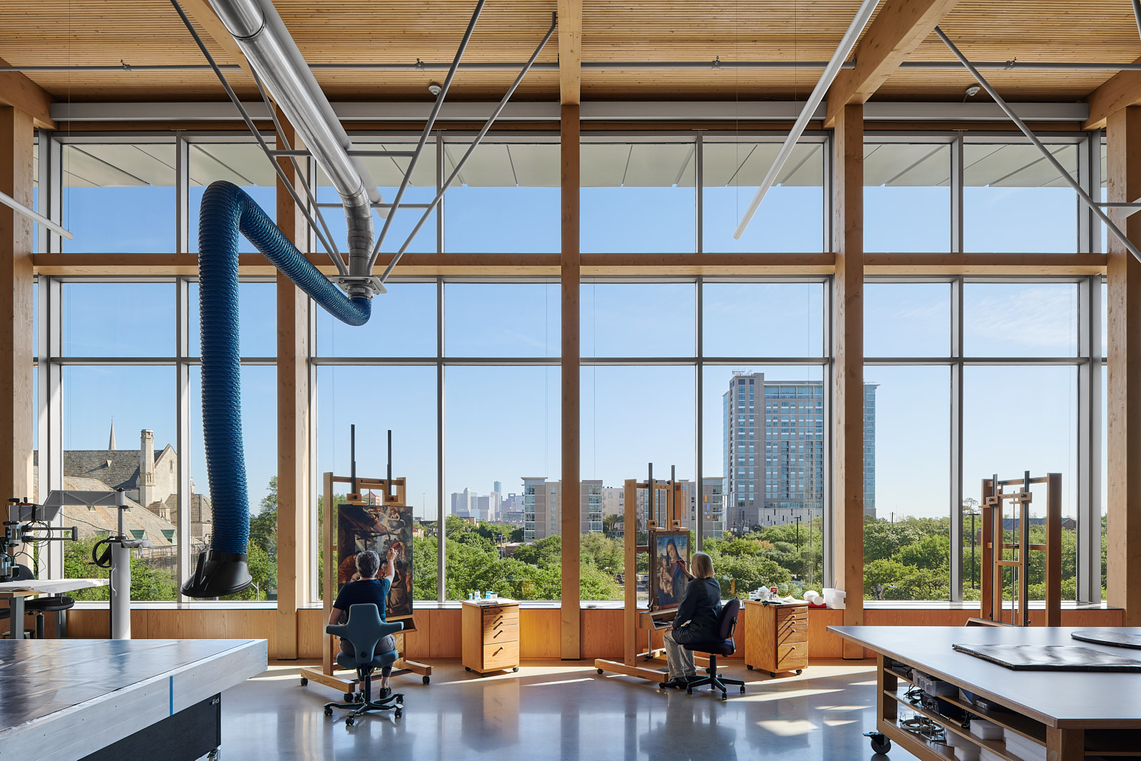 First Dowel Laminated Timber project in North America